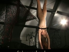 Lyen Parker has a sensual and curvy body and S&m Slaver won't lose the chance to use it for his kinky fetish play. That Guy prepared his full equipment to castigate, spank and pleasure her in his matchless servitude